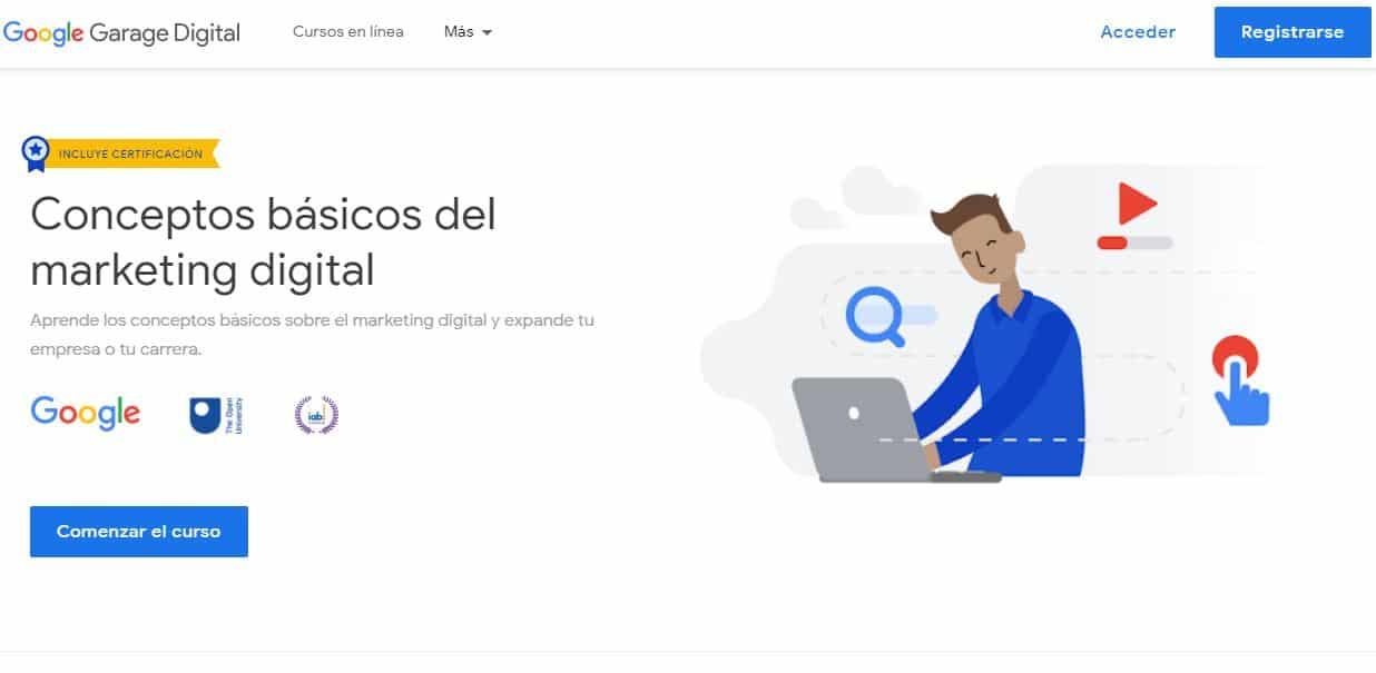 Quieres Estudiar Marketing Digital Gratis Google Lo Hace Posible En El 2021