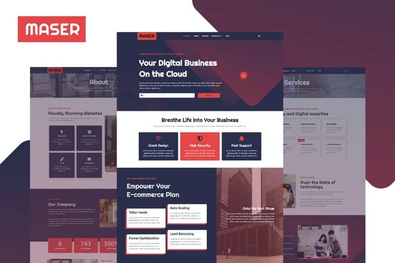 Maser Diseño web