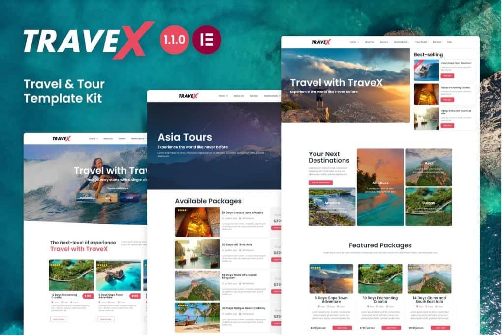 Travex web